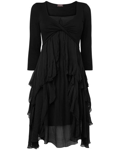 Till dam från Phase Eight, en svart jerseyklänning.