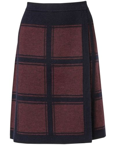Phase Eight Kirstie Check Skirt