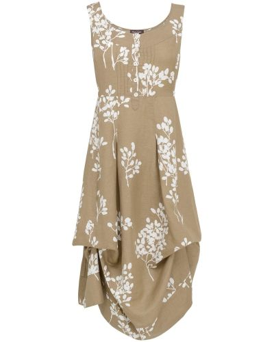 Phase Eight Laurel Printed Linen Hook-Up Dress