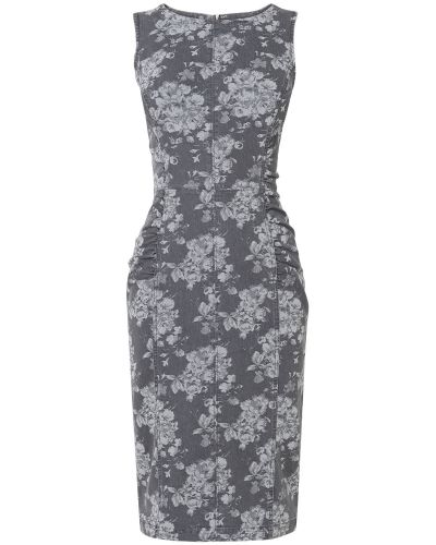 Jeansklänning Lola Floral Denim Dress från Phase Eight