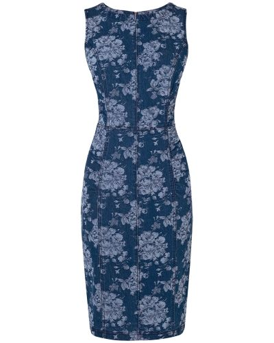 Phase Eight Lola Floral Denim Dress