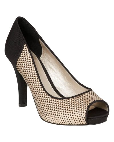 Phase Eight Lucia Weave High Heel Shoes
