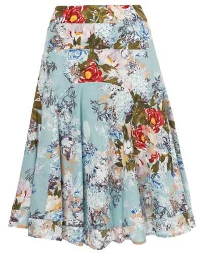 Phase Eight Mara Floral Print Skirt