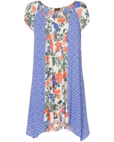 Phase Eight Michaela Floral and Print Mix Tunic