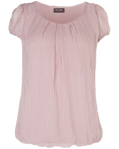 Phase Eight Nina Silk Chiffon Cap Sleeve Blouse