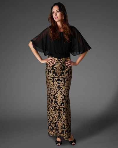 Phase Eight Noto Full Length Sequin Dress