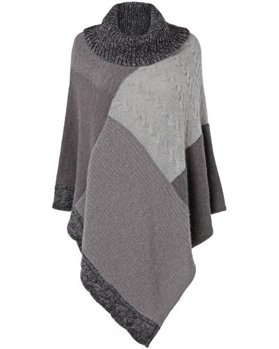Phase Eight Poppi Patchwork Poncho