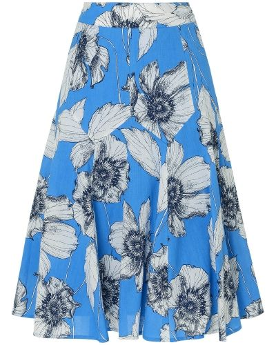 Phase Eight Poppy Print Skirt