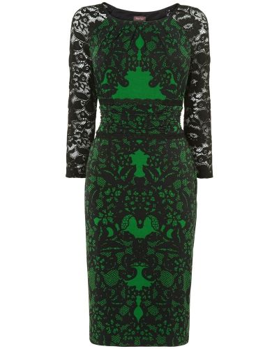 Phase Eight Reena Lace Print Dress