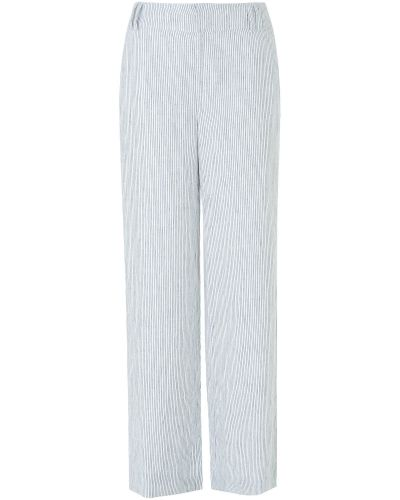 Byxa Rue Stripe Linen Trouser från Phase Eight