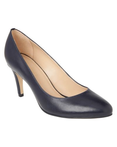 Phase Eight Sadie Leather Court Shoes