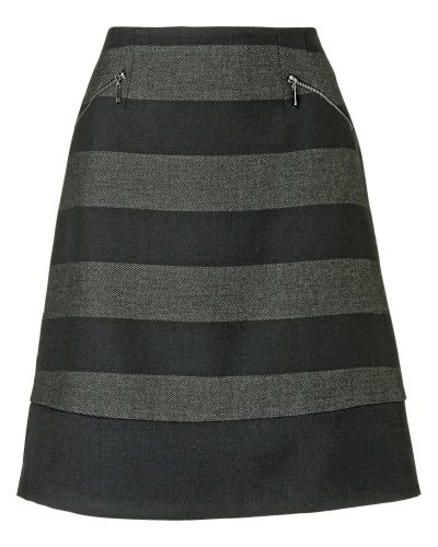 Phase Eight Sapphire Stripe Skirt