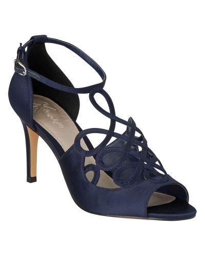 Finsko Satin Filagree Peeptoe Shoes från Phase Eight