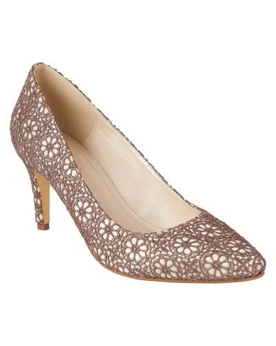 Phase Eight Shilouh Lace Court Shoes