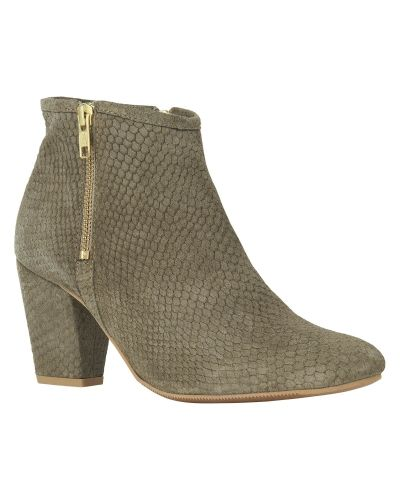 Phase Eight Suede Zip Ankle Boot