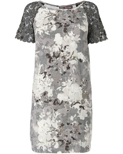 Phase Eight Tamia Lace Sleeve Printed Tunic