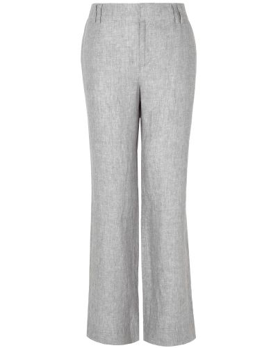 Byxa Trudy Cross Dye Linen Trouser från Phase Eight