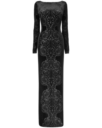 Phase Eight Valonia Full Length Velvet Dress