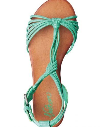 Till dam från Volcom, en blå sandal.