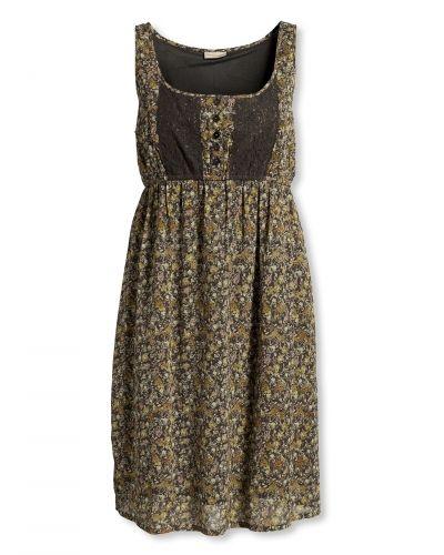 Gul klänning från Bonaparte till dam.
