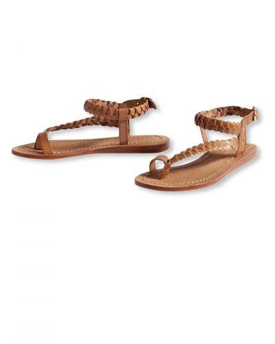 Läder sandaler Bonaparte sko till dam.
