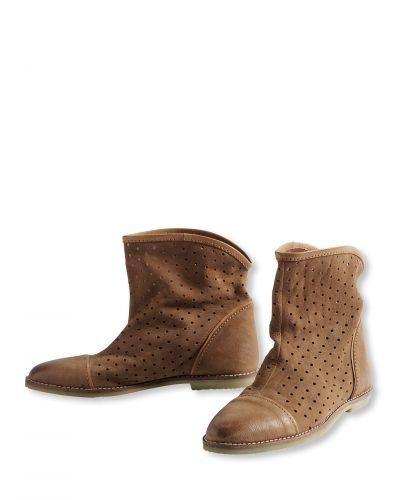 Läder stövletter Bonaparte sko till dam.