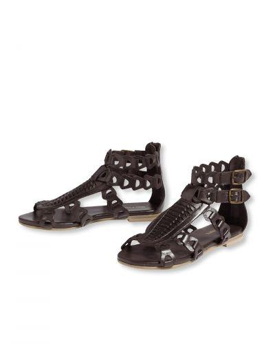 Brun sko från Bonaparte till dam.