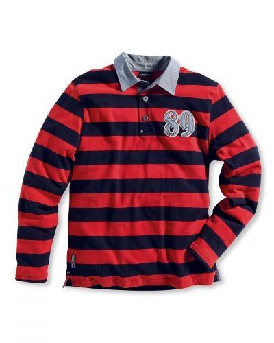 Till dam från Bonaparte, en röd sweatshirts.