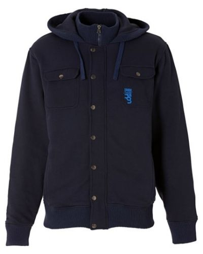c83b5eccc229 Till herr från Rainbow, en blå hoodie.