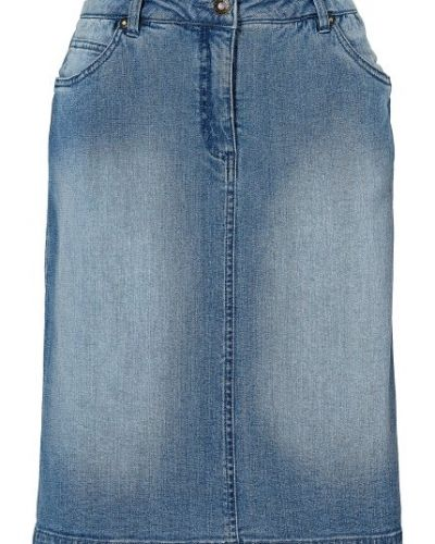 Till tjejer från Bodyflirt, en blå jeanskjol.