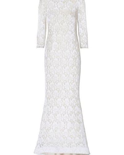 03b7d3a392ef Till dam från Bonprix, en vit långärmad klänning.