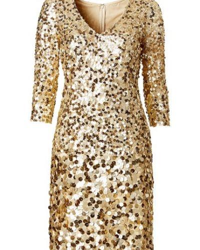 klänning med paljetter