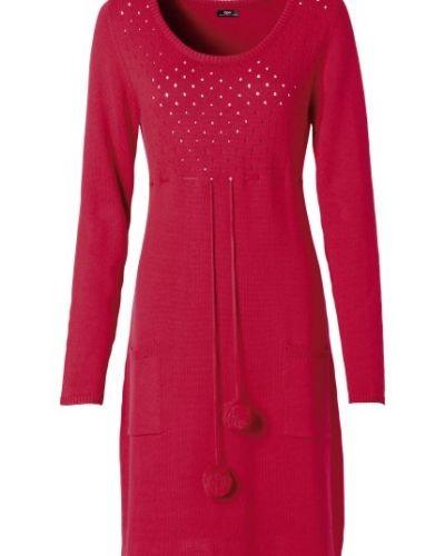 e61a73777092 Röd långärmad klänning från Bpc bonprix collection till dam.
