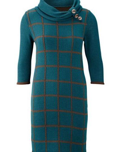 Till dam från Bonprix, en blå stickade klänning.