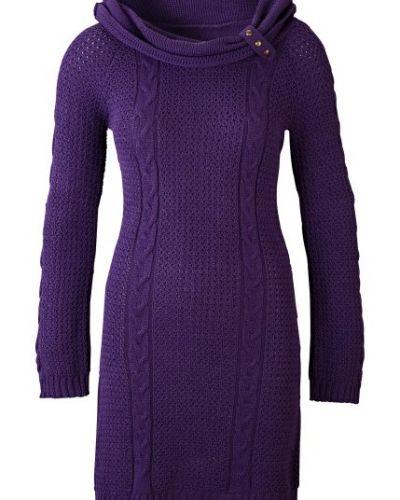 dacc265d10fa Till dam från Bodyflirt, en lila långärmad klänning.