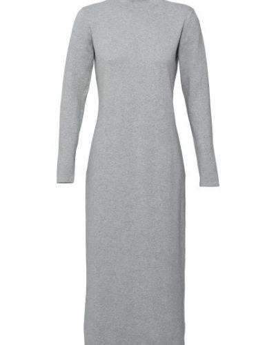 Långärmad stickad klänning | VILA