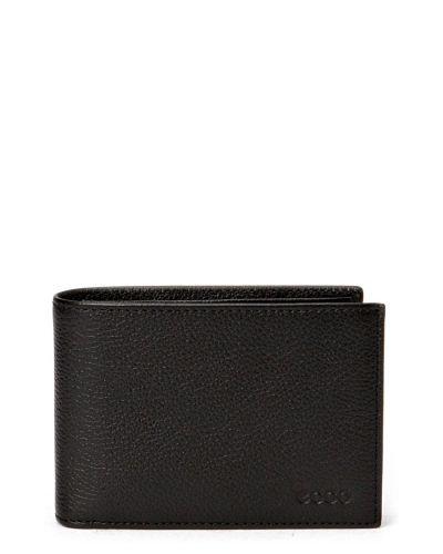 Till unisex/Ospec. från ECCO, en svart plånbok.
