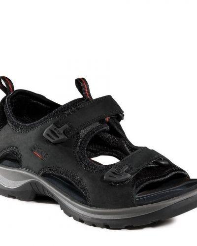 Till unisex/Ospec. från ECCO, en svart sandal.