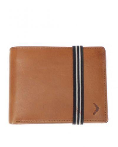 Plånbok Boomerang Tan - Plånbok i genuint läder från Övriga