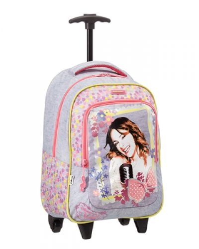 Disney Wonder - Backpack with Wheels Violetta Music Övriga resväska till unisex.