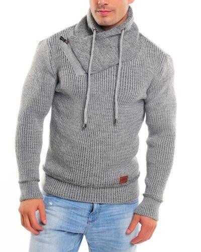 Till herr från Cozy, en grå tröja.