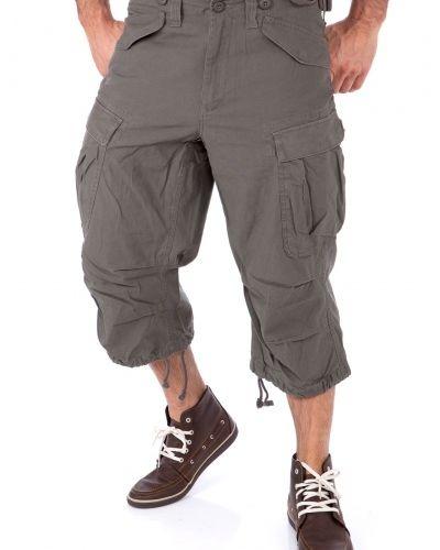 Metallicfärgad shorts från Engineer till herr.