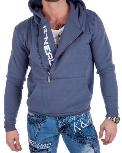 Till herr från Hoodie, en blå tröja.
