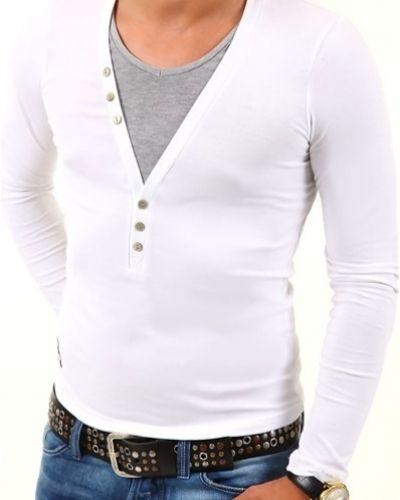 Longsleeve fernando vit/grå Longsleeve tröja till herr.
