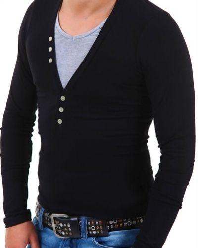 Till herr från Longsleeve, en grå tröja.