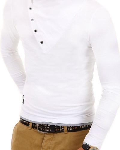Longsleeve treviso vit Longsleeve tröja till herr.