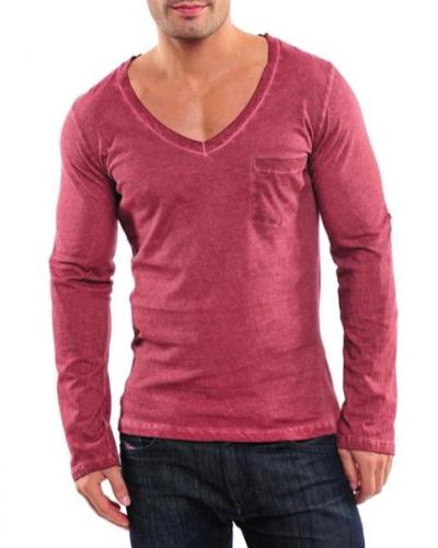 Till herr från Longsleve, en röd tröja.