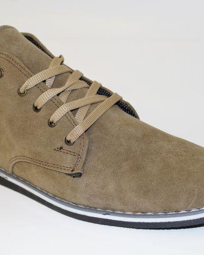 Brun sko från Mocca till herr.