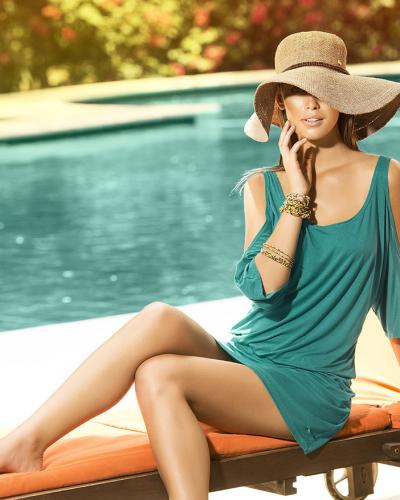 Strandklänning - sunrise - PHAX strandkläder Phax Swimwear strandklänning till tjejer.