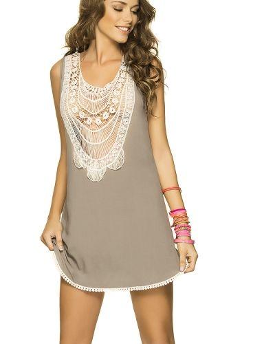 Virkad boho klänning - PHAX strandklänning Phax Swimwear strandklänning till tjejer.